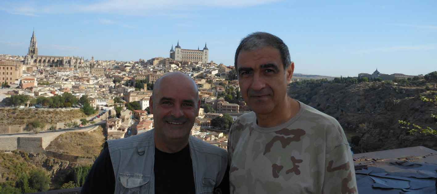 Luis y Jorge en Toledo
