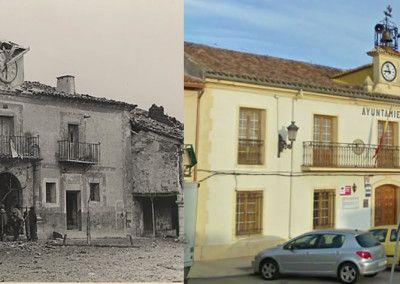 Ayer y hoy del Ayuntamiento de Trijueque
