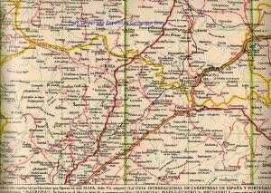Mapa de Guadalajara de la II Republica