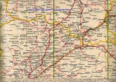 Mapa de Guadalajara de la II República