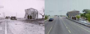 Imagen de Ayer y hoy de la ermita de la Soledad en Trijueque