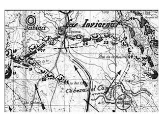 Mapa de las Inviernas. Alto de los Carros