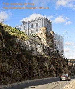 Alcazar Santiago reconstruccion-Asedio Alcazar de Toledo