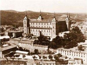 Alcazar antes-Asedio Alcazar de Toledo