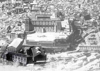 Vista Este del Alcazar de Toledo antes del asedio 2