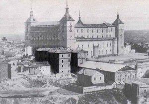 Alcazar antes capuchinos-Asedio Alcazar de Toledo