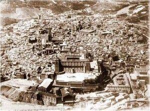 Alcazar antes vista 2-Asedio Alcazar de Toledo