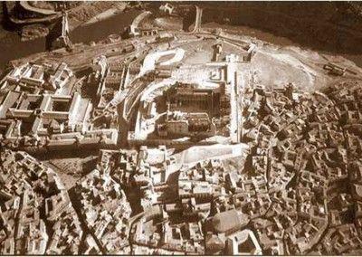 Alcázar de Toledo después del asedio