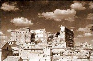 Alcazar despues destruccion 2-Asedio-Alcazar-de-Toledo