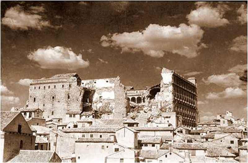 Destrucción del Alcázar de Toledo 2