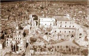 Alcazar despues destruccion 3-Asedio-Alcazar-de-Toledo