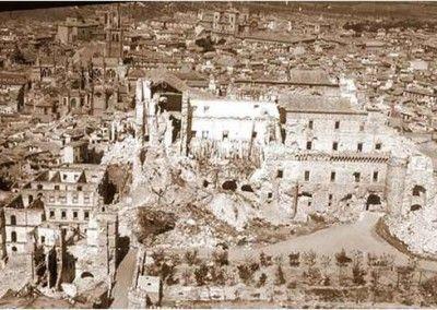 Destrucción del Alcázar de Toledo 3