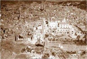 Alcazar despues destruccion 4-Asedio Alcazar de Toledo