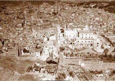 Destrucción del Alcázar de Toledo 4