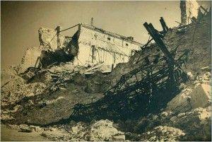 Alcazar fachada norte despues-Asedio Alcazar de Toledo