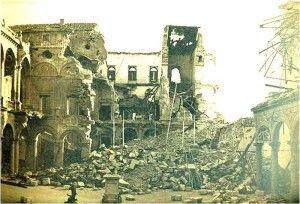 Alcazar interior-Asedio Alcazar de Toledo