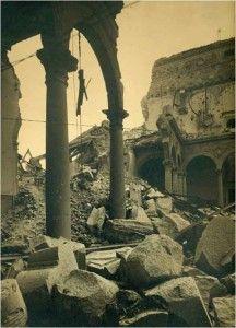 Alcazar interior NE-Asedio Alcazar de Toledo