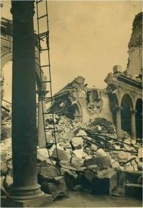 Alcazar interior NO 2-Asedio Alcazar de Toledo