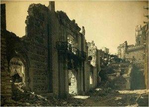 Alcazar picadero-Asedio Alcazar de Toledo