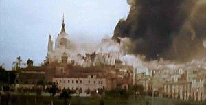 Alcazar voladura-Asedio Alcazar de Toledo