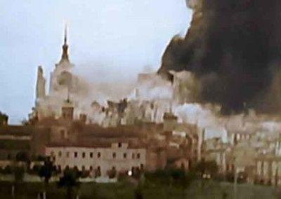 Voladura del Alcazar de Toledo