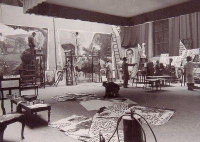 Alumnos Bellas Artes. 22 de junio de 1937
