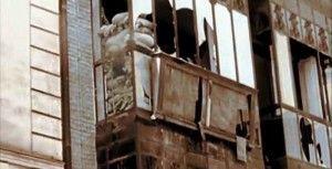 Balcon calle Armas hostal-Asedio Alcazar de Toledo