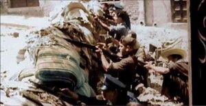 Barricadas 2 calle Armas hostal-Asedio Alcazar de Toledo