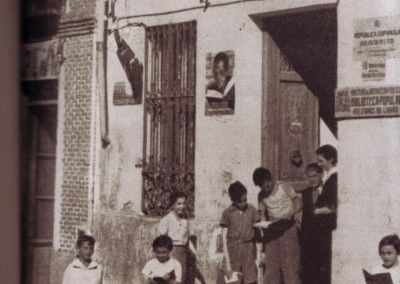 Biblioteca Prosperidad. Barrio de la Guindalera