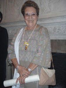 Carmen Tagüeña Parga hija del Tte Cl Manuel Tagüeña Lacorte