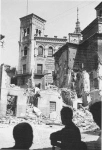 Casino plaza Magdalena-Asedio Alcazar de Toledo