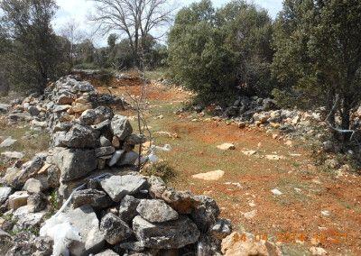 Escenario de combates. las cercas en la Enebrá Socarrá