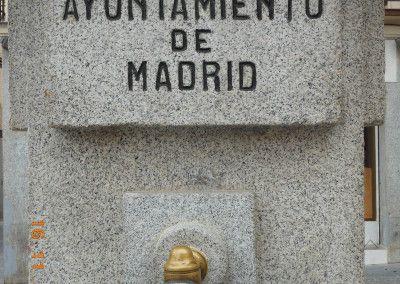 Fuente de Cabestreros dedicada a la República. Año 1934