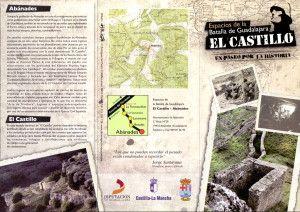 Folleto EL CASTILLO_Un paseo por la Historia_Tríptico