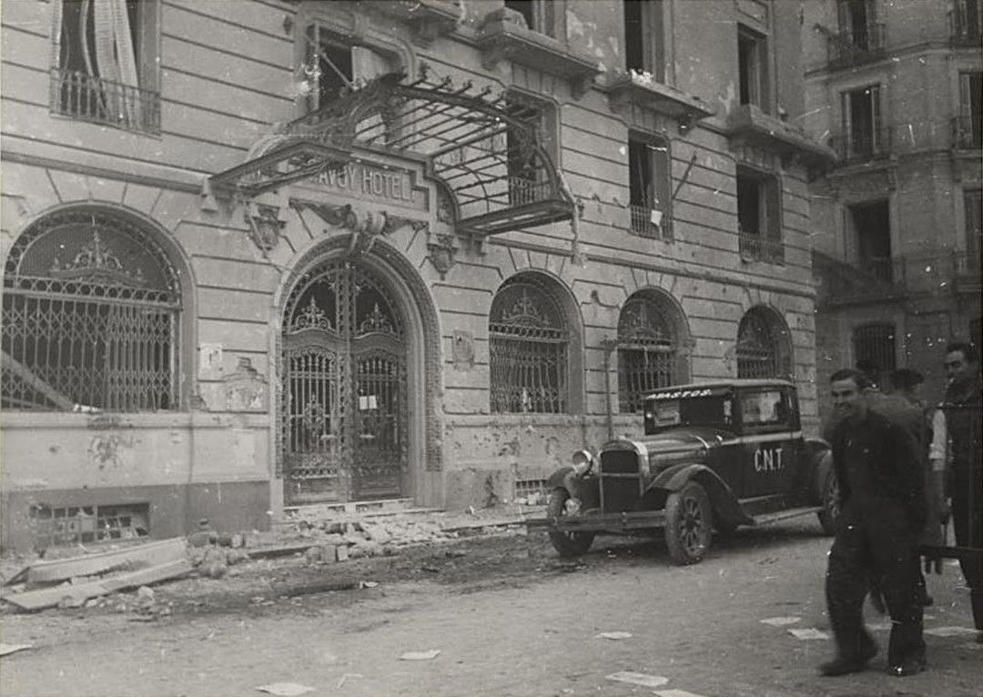 Hotel Savoy. Residencia de otros asesores soviéticos.
