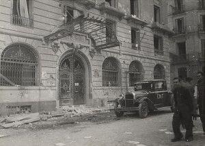 Hotel Savoy. Residencia de otro tipo de asesores soviéticos como tanquistas y aviadores