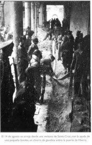 Mangueras gasolina Santa Cruz-Asedio Alcazar de Toledo