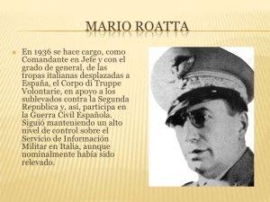 Ficha Mario Roatta