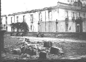Milicianos Santa Cruz 4-Asedio Alcazar de Toledo
