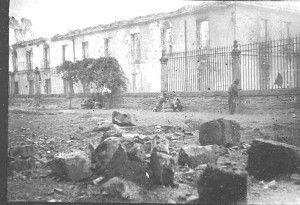Milicianos Santa Cruz-Asedio Alcazar de Toledo