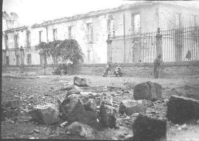 Milicianos en Santa Cruz