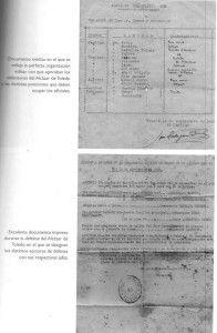 Organización interna del Alcázar de Toledo
