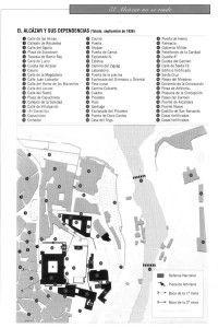 Plano Alcazar de Toledo 2