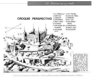 Plano Alcazar de Toledo
