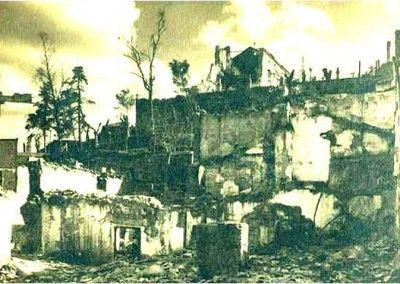 Posada de la Sangre después del asedio