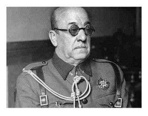 José Moscardó al acabar la guerra