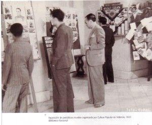 Periódicos murales en Valencia. 1937