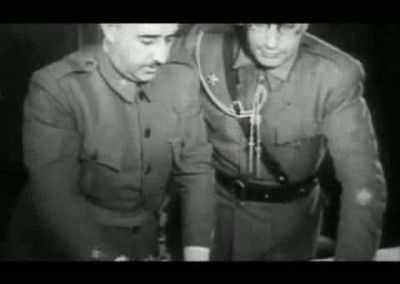 Franco planificando operaciones.