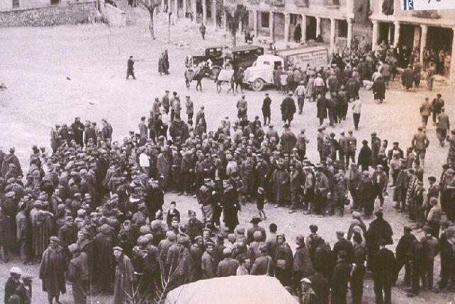 Plaza de Cogolludo en poder de las tropas nacionales