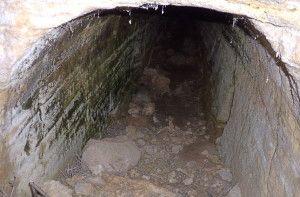 Tunel en posicion El Pingarrón